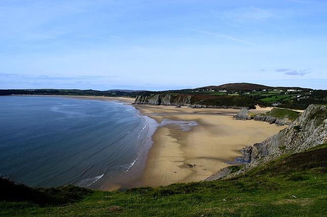 Swansea bay, Gower, Wales