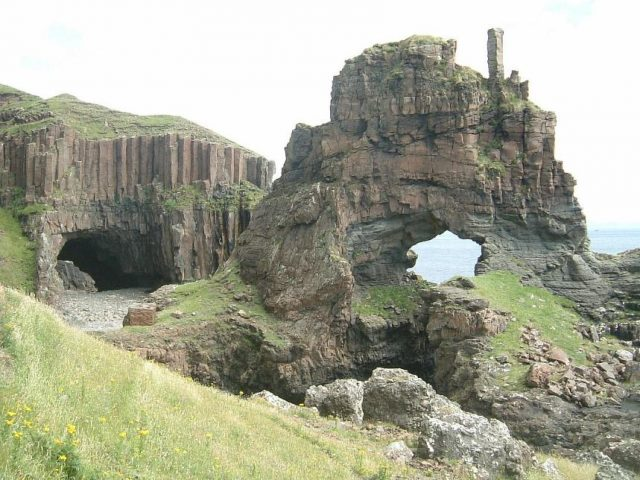 Carsaig Arches on the Isle of Mull