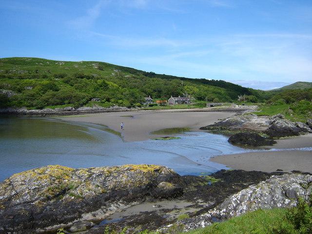 Lussa Bay, Isle of Jura,